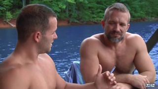Dirk Caber & Luke Adams in son swap