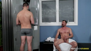 my first bathhouse with Brenner Bolton & Max Sargent