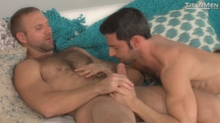 Tom Wolfe and Dario Beck in morning wood
