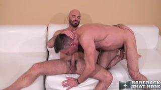 Adam Russo and Matt Sizemore at bareback that hole