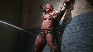 doug acre gets whipped and fucked by the gimp
