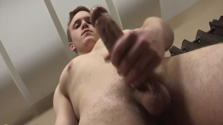 aiden strokes his 9 inches
