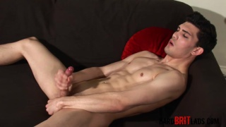 ripped luke tyler jerking off