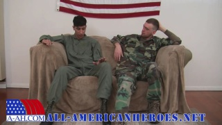 ARMY SPECIALIST JD FUCKS STAFF SERGEANT ALEX
