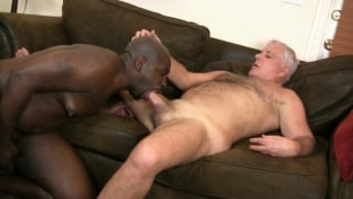 STEVE LUCAS flip flops for BLACK DICK