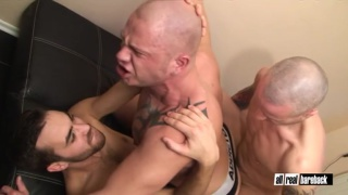 fostter riviera barebacking two bald men