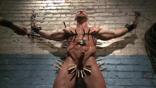 muscle hunk beaten flogged and more