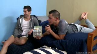 sinful sleepover with Ethan Slade & Jamie Del Rey