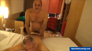 horny spanish men fucking in their hotel
