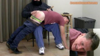 Jared's First Spanking