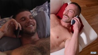 phone sex starring Adam Herst & Jimmy Fanz