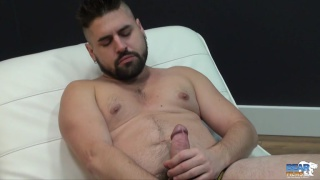 handsome, bearded newcummer guermica