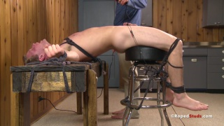 roped studs get their cocks roughed up
