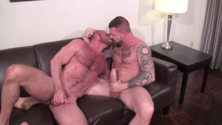 matt stevens' first bareback video