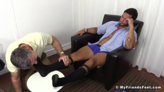 RJ's Dress Socks and Size 13 Feet Worshiped