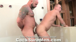 Scotty Rage Barebacks David Lambert