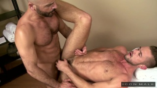 gay massage house with Adam Russo & Mike Demarco