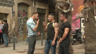 On the Prowl - Scene 2: Julio Rey, Alex Brando, Mario Torres