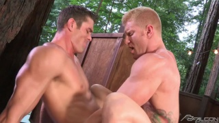 naughty pines starring Ryan Rose & Johnny V