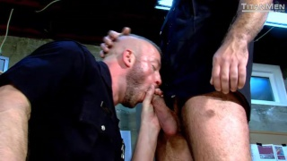 bad cop starring Hunter Marx and Damien Stone