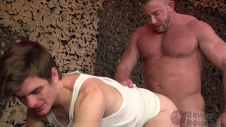 Fucking Private Rocky with Shay Michaels and Rocky Soukup