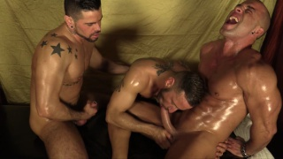 THE MASSAGE with ANTONIO AGUILERA, ANTONIO MIRACLE & MARIO DOMENECH