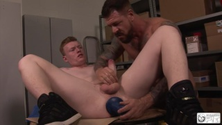 10-Inch Rocco Destroys Dylan's Hole