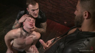 master Christian presents slave #153 to master Adam