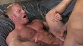 johnny v mounts lance luciano and rides his dick