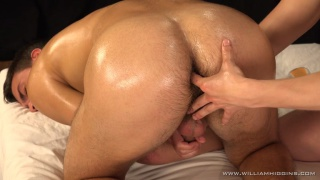cute czech stud gets full-service massage