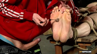 Ashton Loves His Foot Fucking