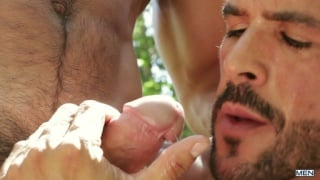 Denis Vega & Paddy O'Brian in men in ibiza