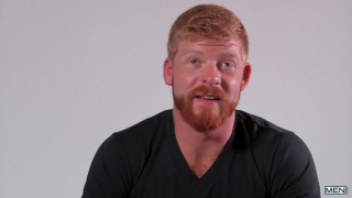 ginger beard hunk Bennett Anthony makes his debut