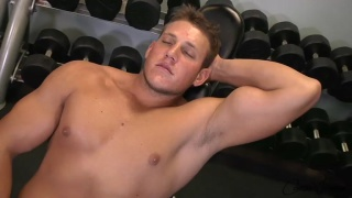 blond hunk shane beats off