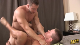 muscle stud choke fucking his bottom