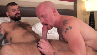 ginger bottom gets his hole bare fucked