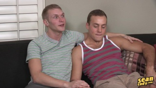 sexy blond guys pete and cory bare fucking