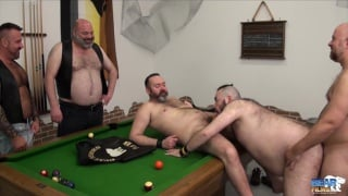 orgy in the bear riders club house