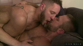 Guys Kissing Guys with Wolf Hudson and Dirk Caber