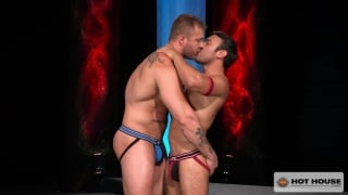 fire and ice with Austin Wolf and Dorian Ferro