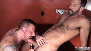 furry hunk vinnie stefano bare fucks hugh hunter