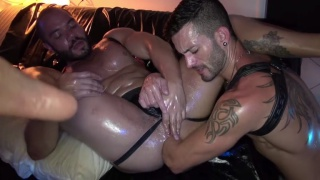 Thiago's Fist Academy Part 2 Thiago Romeo and andy star