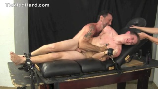 tristan freaks out during tickling session