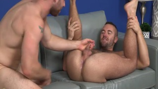 two guys totally into pleasing each other