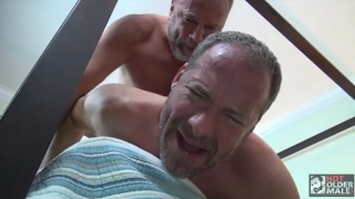 Older Couple Mitch and Josh fuck bareback