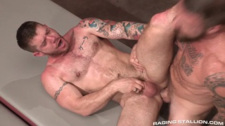 Rocco Steele drills Skippy Baxter