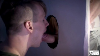 Sleazy Twink Fucked Through The Wall