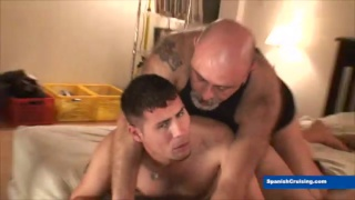 Santy gets massaged and fucked raw