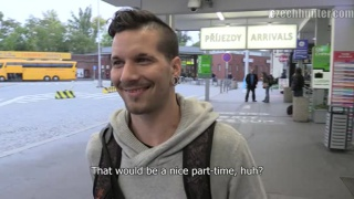 Video ansehen czech guy picked up at the bus station