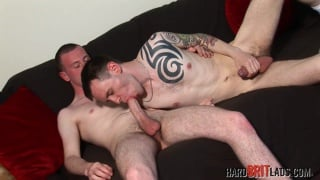 Horny well-hung scally lads have a hot session